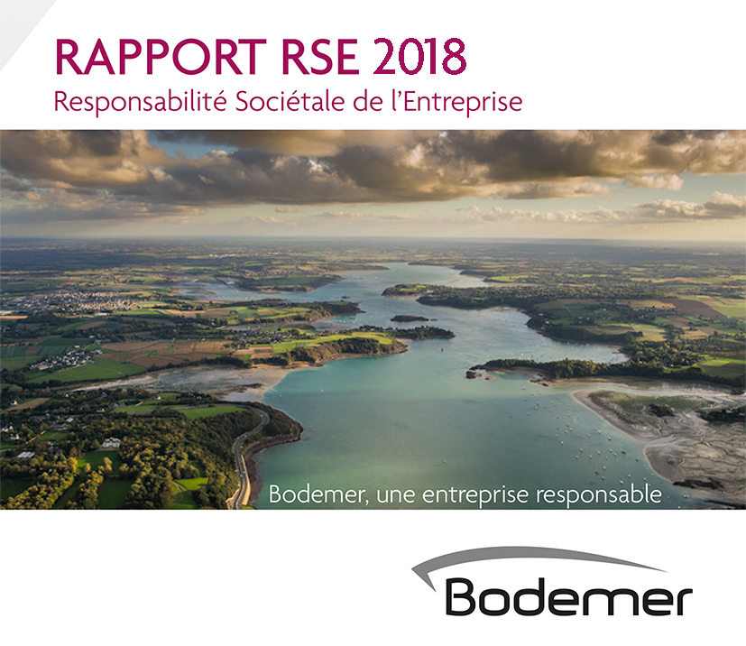 Rapport RSE 2015 du groupe Bodemer